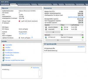 ESXLinuxSystem auf VSAmigriert