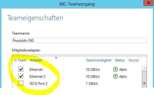 NIC-Team