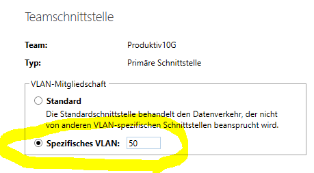 Team-VLAN